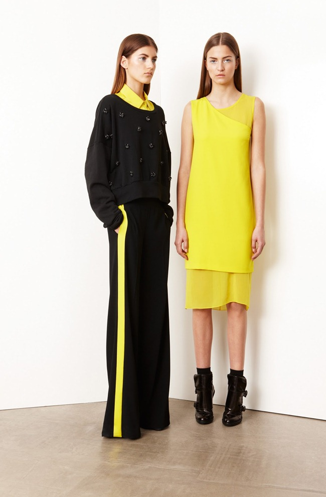 COLLECTION- Valery Kaufman & Emeline Ghesquiere for DKNY Resort 2014. www.imageamplified.com, Image Amplified   (5)