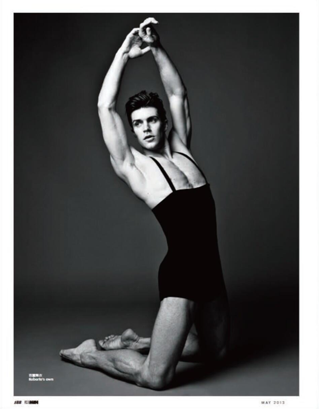 ELLE MEN CHINA- Roberto Bolle in The Modern Romeo, May 2013. www.imageamplified.com, Image Amplified (1)