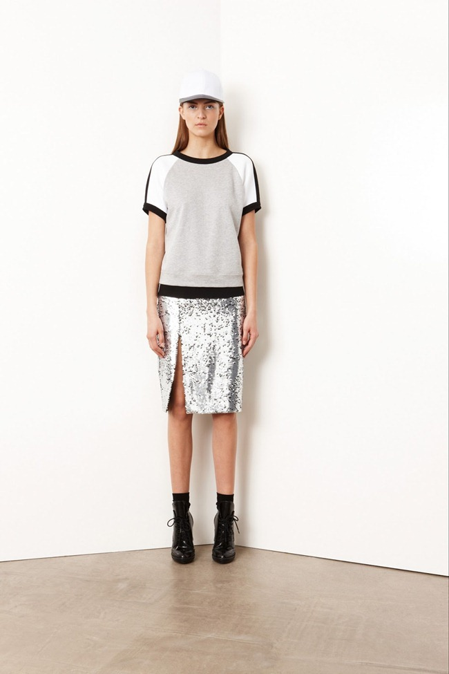 COLLECTION- Valery Kaufman & Emeline Ghesquiere for DKNY Resort 2014. www.imageamplified.com, Image Amplified