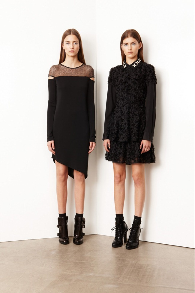 COLLECTION- Valery Kaufman & Emeline Ghesquiere for DKNY Resort 2014. www.imageamplified.com, Image Amplified   (4)
