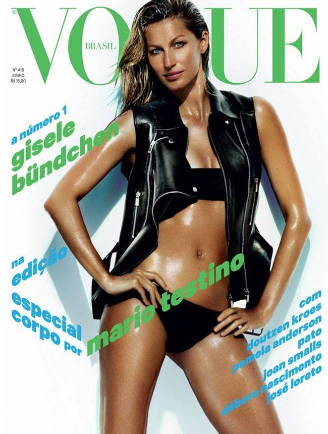 VOGUE BRAZIL- Gisele Budnchen in Barendo Um Bolao by Mario Testino. June 2013, www.imageamplified.com, Image Amplified (1)