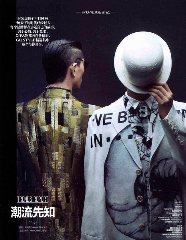GQ STYLE CHINA- Jin  Dachuan & Luo Wenjie by Alexvi. Min Chun Liang, www.imageamplified.com, Image Amplified (1)