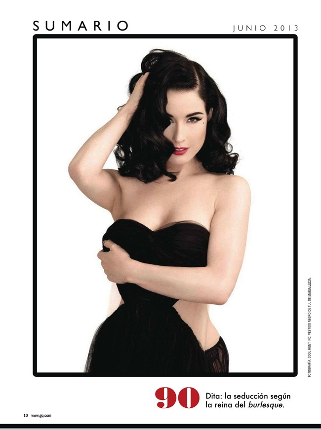 GQ SPAIN- Dita Von Teese by Albert Sanchez. June 2013, www.imageamplified.com, Image Amplified (1)