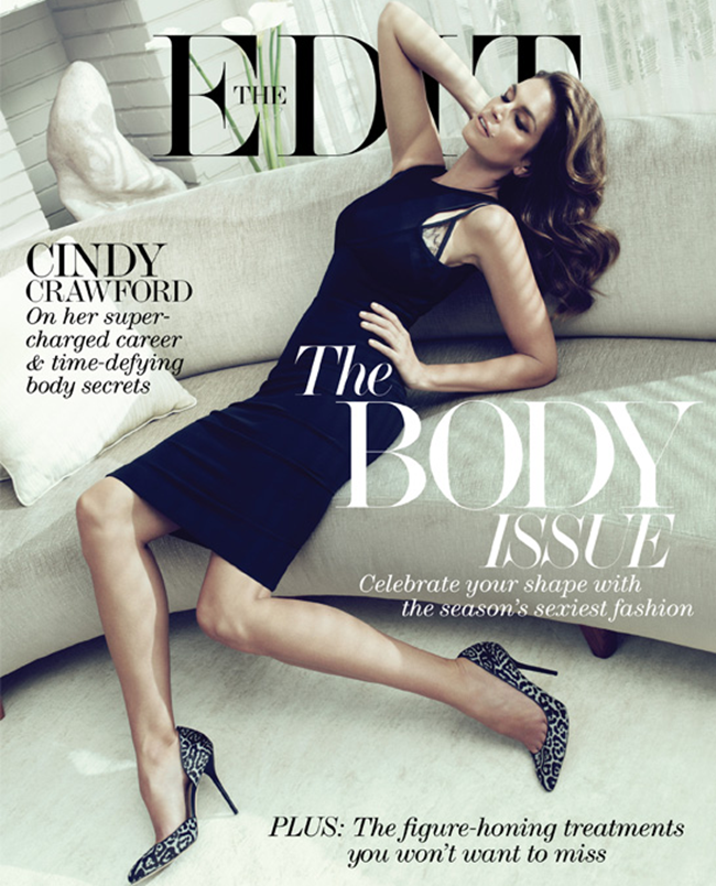 THE EDIT MAGAZINE- Cindy Crawford in Super Power by Paola Kudacki. May 2013, www.imageamplified.com, Image Amplified