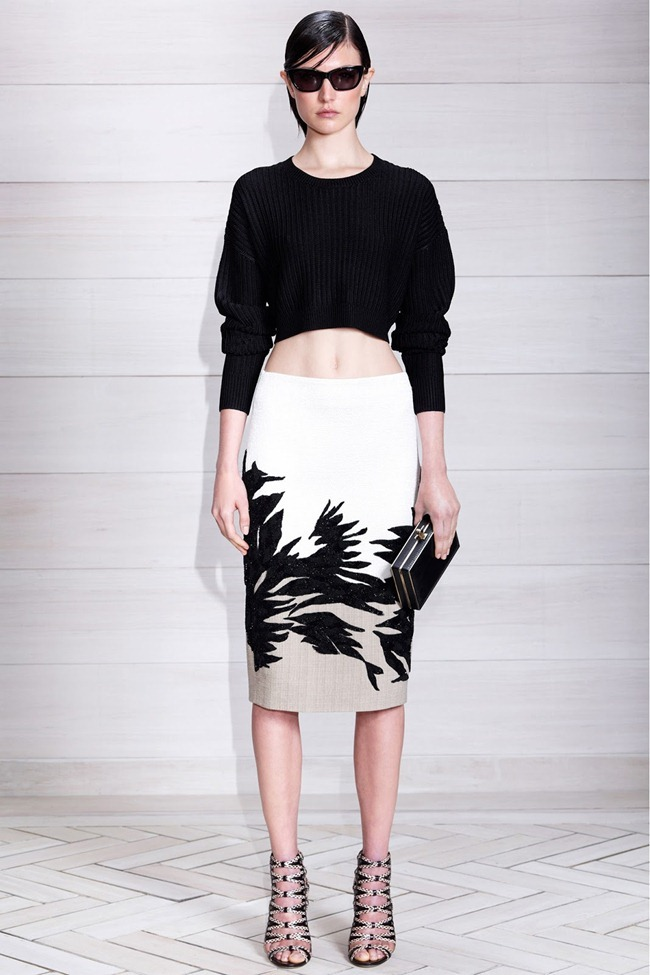 COLLECTION- Alana Bunte, Elisabeth Erm & Jacquelyn Jablonski for Jason Wu Resort 2014. www.imageamplified.com, Image Amplified (1)