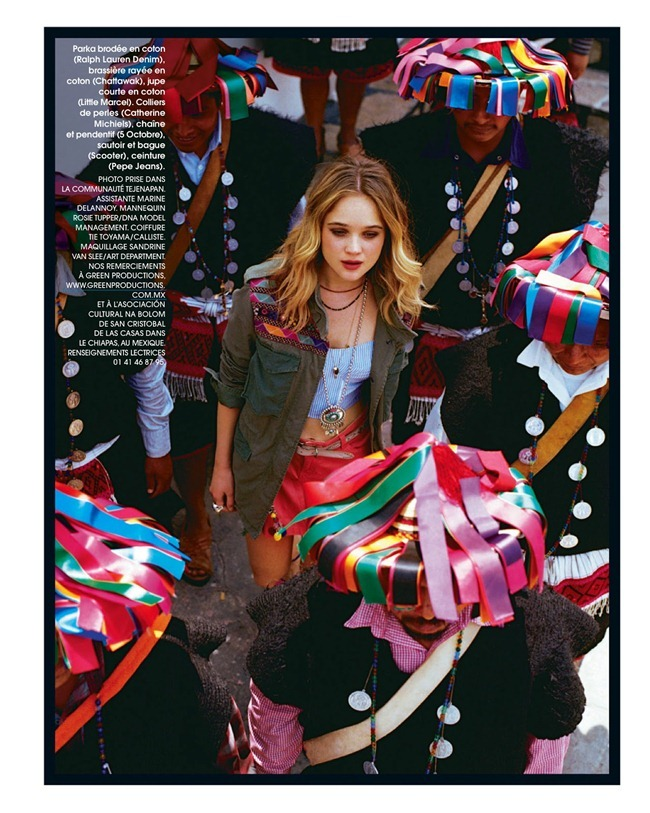 MARIE CLAIRE FRANCE Rosie Tupper in Chica by Anne Menke. Laurence Alexandre, July 2013, www.imageamplified.com, Image Amplified (17)