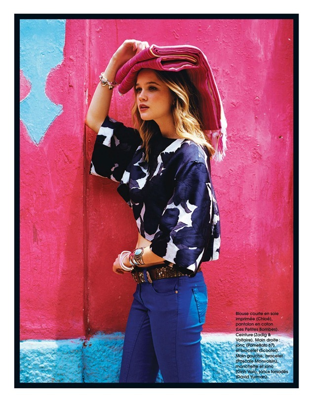 MARIE CLAIRE FRANCE Rosie Tupper in Chica by Anne Menke. Laurence Alexandre, July 2013, www.imageamplified.com, Image Amplified (1)