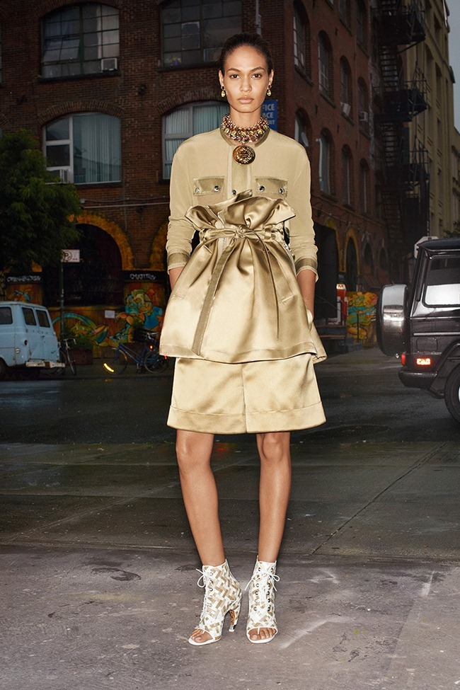 COLLECTION Dalianah Akerion & Joan Smalls for Givenchy Resort 2014. www.imageamplified.com, Image Amplified (13)