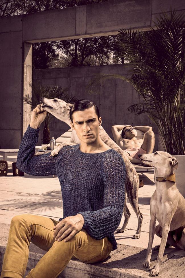 Picture About Male Model Sebatian Pils & Mario Loncarski Shot by Andreas Waldschutz