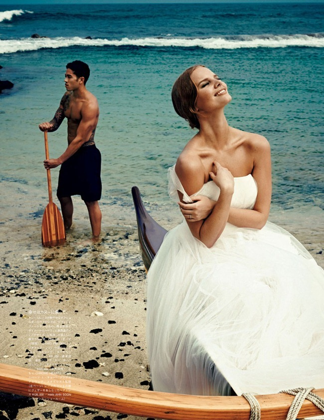 VOGUE JAPAN WEDDING Marloes Horst & Hunter Trevelyan Wyndham in They Call Her Pineapple Princess by Rene Habermacher. Rene Semba, www.imageamplified.com, Image Amplified (4)