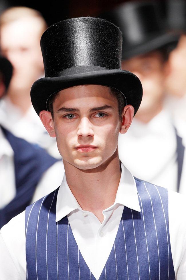 LONDON FASHION WEEK Hackett London Men's RTW Spring 2014. www.imageamplified.com, Image Amplified (23)