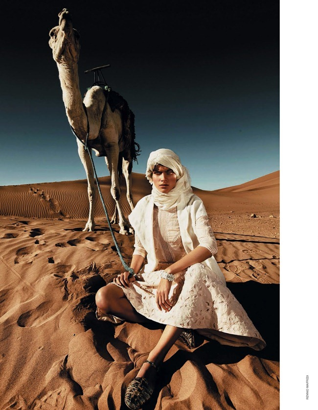 MARIE CLAIRE ITALIA Benthe de Vries in La Nomade by Rennio Maifredi. Laura Seganti, July 2013, www.imageamplified.com, Image Amplified (1)