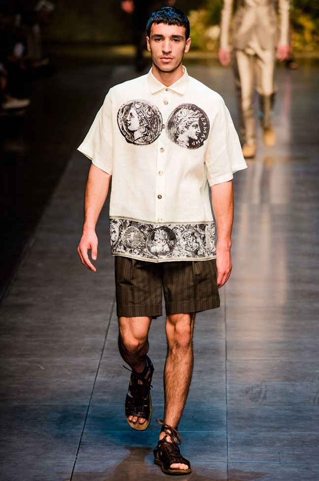MILAN FASHION WEEK- Dolce & Gabbana Men's RTW Spring 2014. www.imageamplified.com, Image Amplified (14)