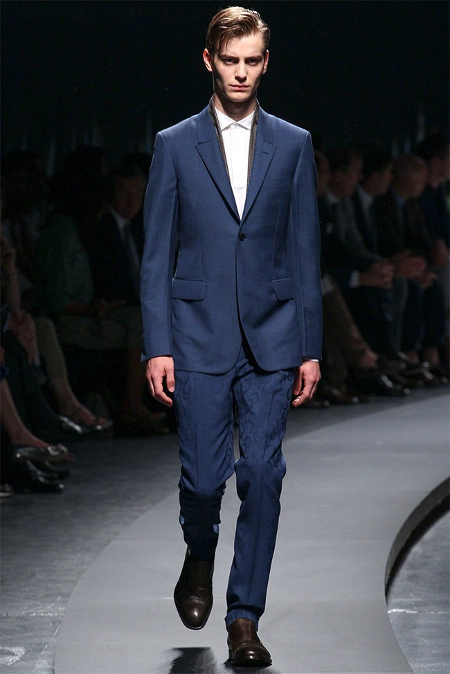 MILAN FASHION WEEK- Ermenegildo Zegna Men's RTW Spring 2014. www.imageamplified.com, Image Amplified (2)