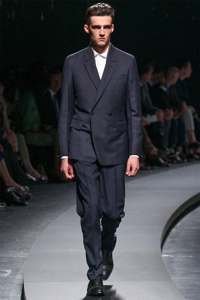 MILAN FASHION WEEK- Ermenegildo Zegna Men's RTW Spring 2014. www.imageamplified.com, Image Amplified (3)