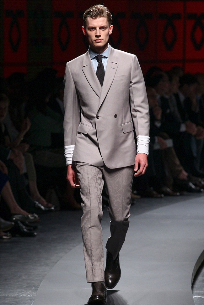 MILAN FASHION WEEK- Ermenegildo Zegna Men's RTW Spring 2014. www.imageamplified.com, Image Amplified (9)