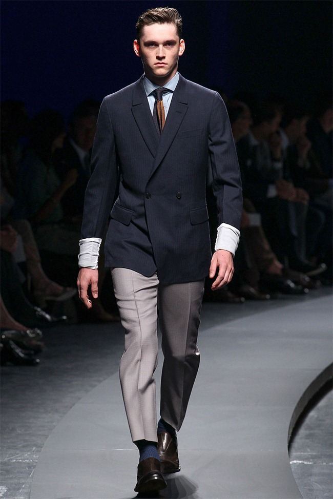 MILAN FASHION WEEK- Ermenegildo Zegna Men's RTW Spring 2014. www.imageamplified.com, Image Amplified (11)