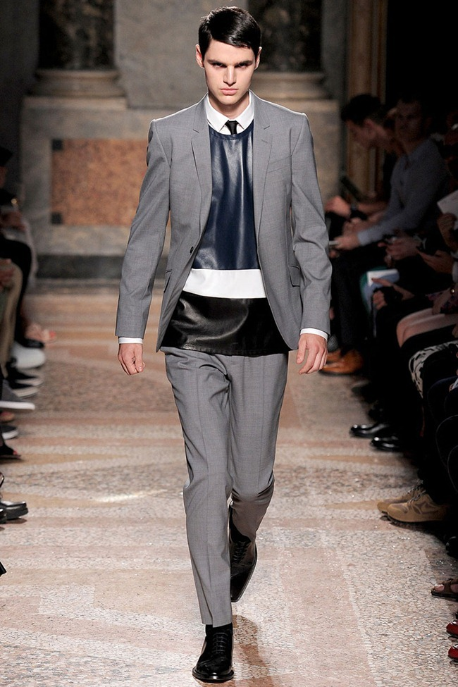 MILAN FASHION WEEK- Les Hommes Men's RTW Spring 2014. www.imageamplified.com, Image Amplified (1)