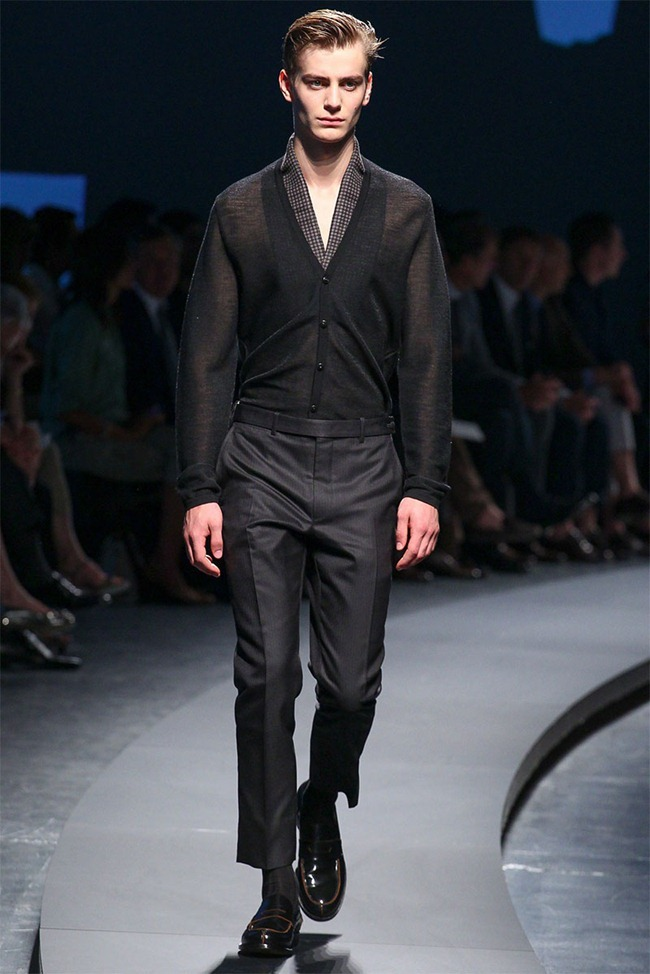 MILAN FASHION WEEK- Ermenegildo Zegna Men's RTW Spring 2014. www.imageamplified.com, Image Amplified (37)