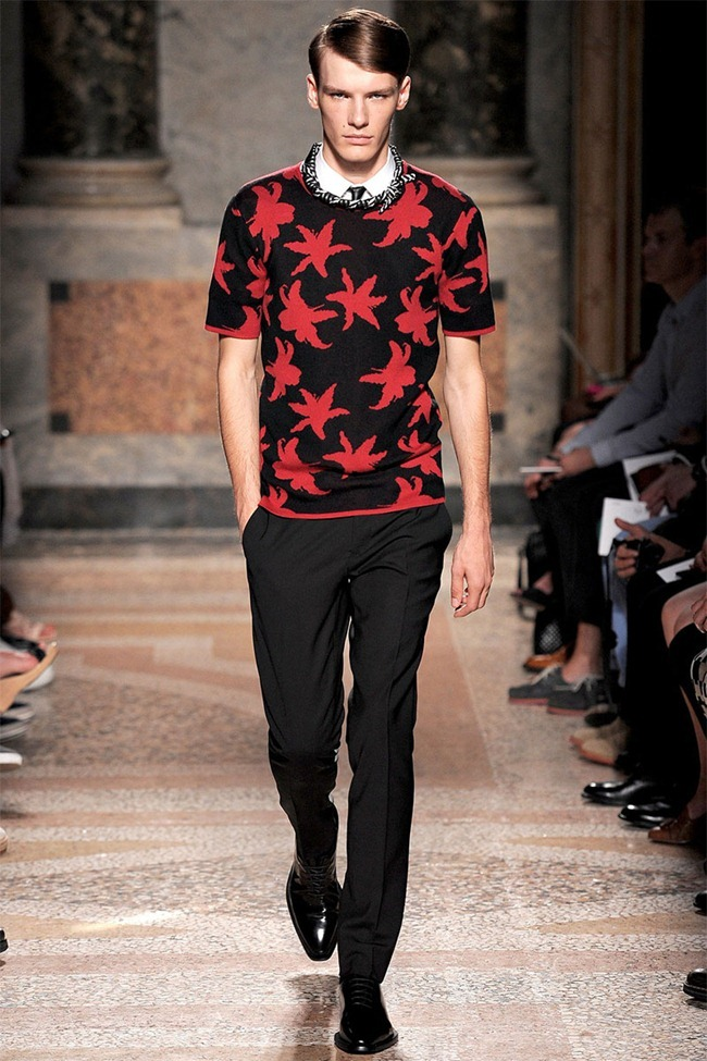 MILAN FASHION WEEK- Les Hommes Men's RTW Spring 2014. www.imageamplified.com, Image Amplified (14)