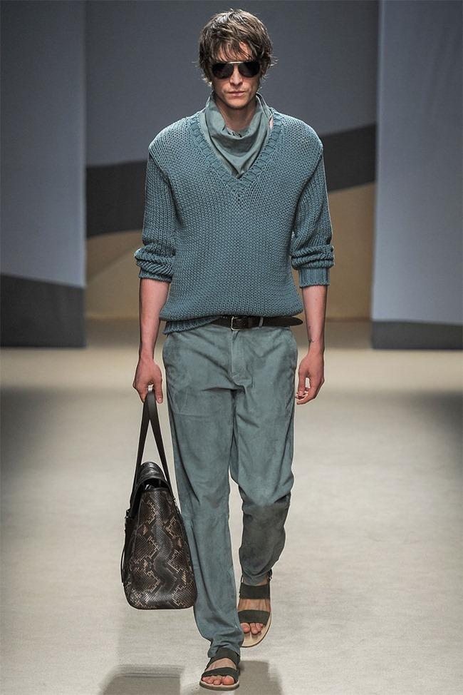 MILAN FASHION WEEK- Trussardi Men's RTW Spring 2014. www.imageamplified.com, Image Amplified (7)