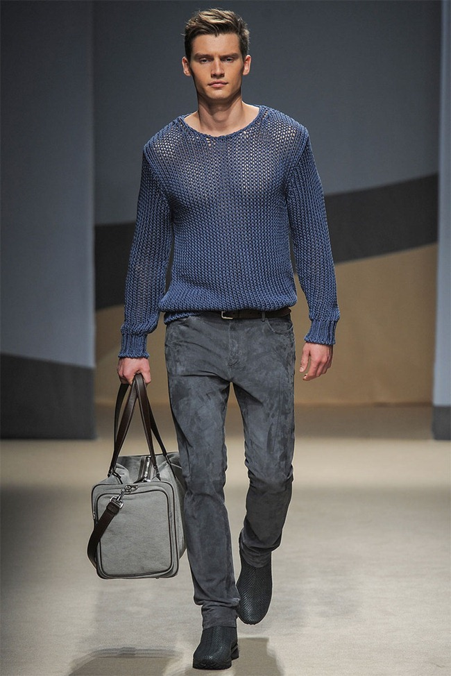 MILAN FASHION WEEK- Trussardi Men's RTW Spring 2014. www.imageamplified.com, Image Amplified (22)