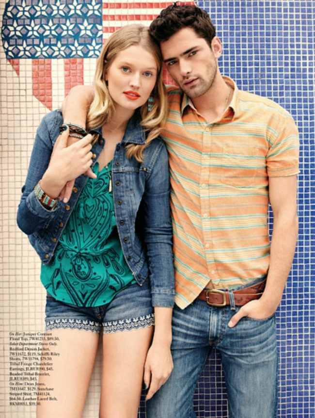 CATALOGUE Sean O'Pry for Lucky Brand Summer 2013. www.imageamplified.com, Image Amplified (9)