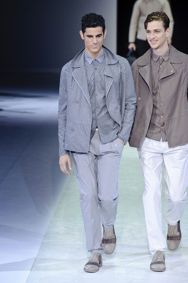 MILAN FASHION WEEK Emporio Armani Men's RTW Spring 2014. www.imageamplified.com, Image Amplified (29)