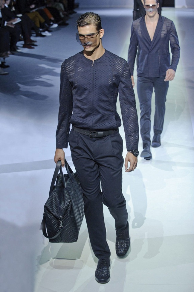 MILAN FASHION WEEK Emporio Armani Men's RTW Spring 2014. www.imageamplified.com, Image Amplified (42)