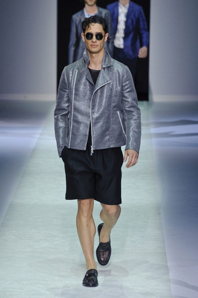 MILAN FASHION WEEK Emporio Armani Men's RTW Spring 2014. www.imageamplified.com, Image Amplified (10)