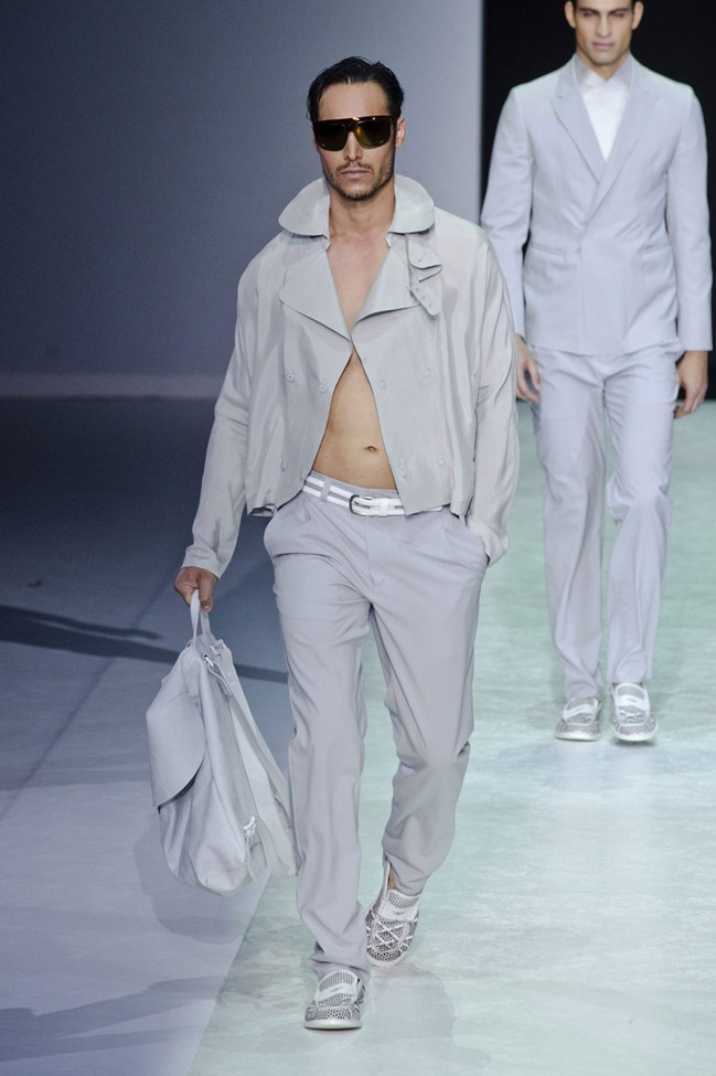 MILAN FASHION WEEK Emporio Armani Men's RTW Spring 2014. www.imageamplified.com, Image Amplified (12)