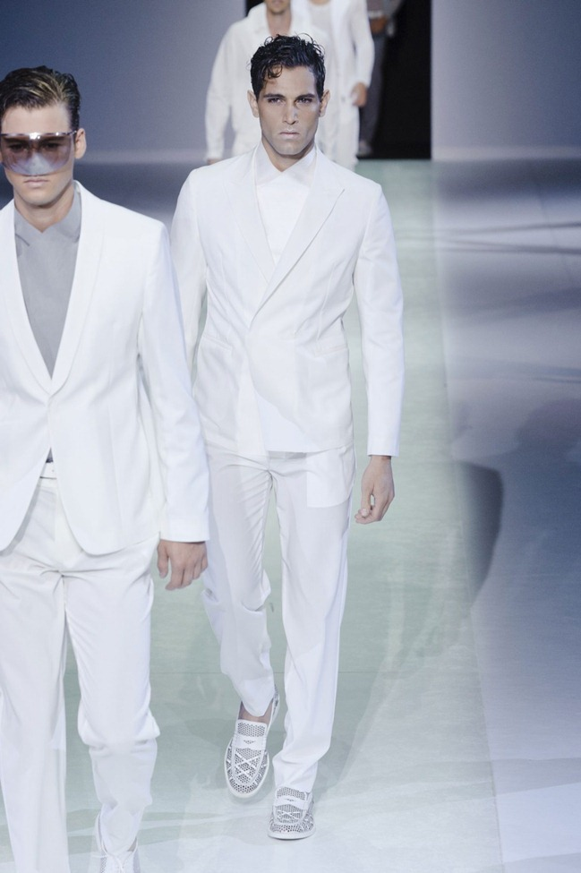 MILAN FASHION WEEK Emporio Armani Men's RTW Spring 2014. www.imageamplified.com, Image Amplified (16)