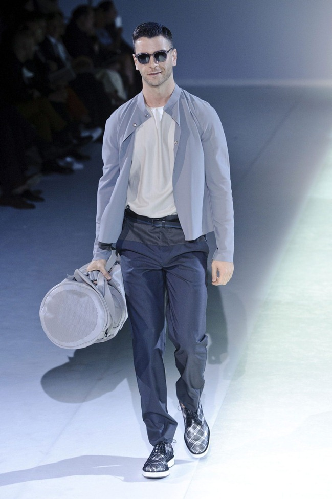 MILAN FASHION WEEK Emporio Armani Men's RTW Spring 2014. www.imageamplified.com, Image Amplified (71)