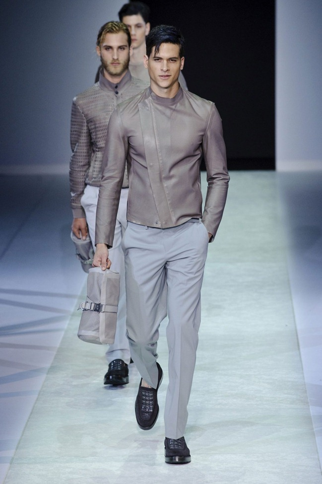MILAN FASHION WEEK Emporio Armani Men's RTW Spring 2014. www.imageamplified.com, Image Amplified (75)