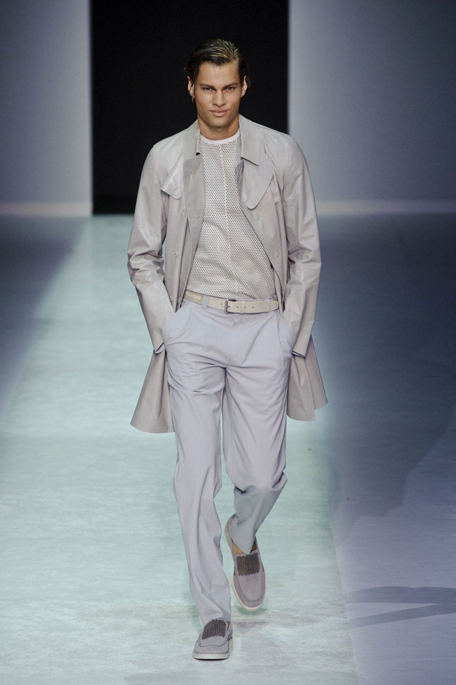 MILAN FASHION WEEK Emporio Armani Men's RTW Spring 2014. www.imageamplified.com, Image Amplified (81)