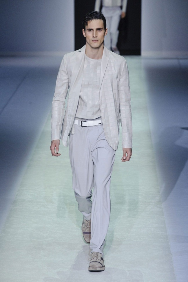 MILAN FASHION WEEK Emporio Armani Men's RTW Spring 2014. www.imageamplified.com, Image Amplified (83)