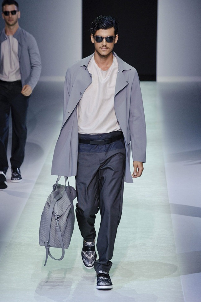 MILAN FASHION WEEK Emporio Armani Men's RTW Spring 2014. www.imageamplified.com, Image Amplified (87)