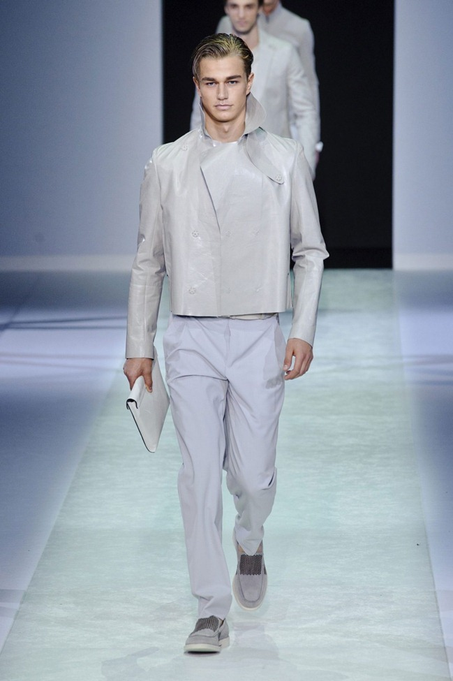 MILAN FASHION WEEK Emporio Armani Men's RTW Spring 2014. www.imageamplified.com, Image Amplified (89)
