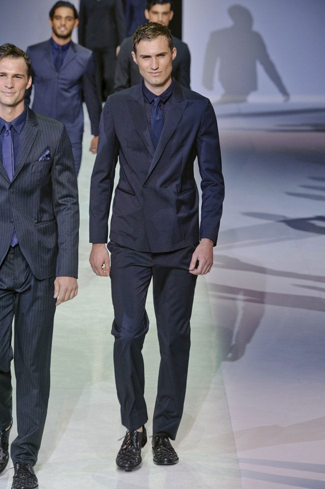 MILAN FASHION WEEK Emporio Armani Men's RTW Spring 2014. www.imageamplified.com, Image Amplified (92)