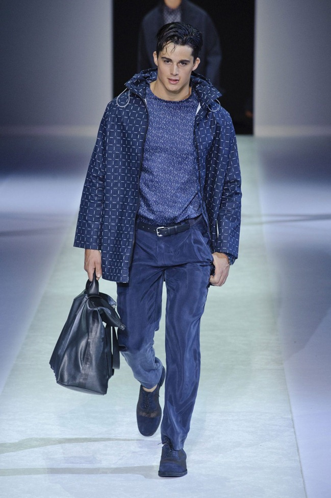 MILAN FASHION WEEK Emporio Armani Men's RTW Spring 2014. www.imageamplified.com, Image Amplified (99)
