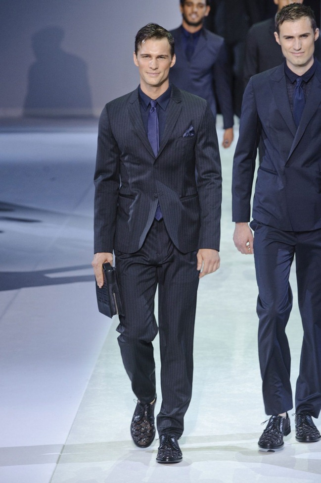 MILAN FASHION WEEK Emporio Armani Men's RTW Spring 2014. www.imageamplified.com, Image Amplified (112)