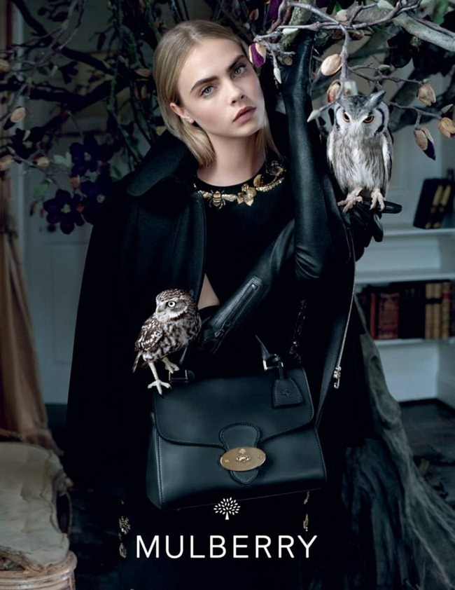 CAMPAIGN Cara Delevigne for Mulberry Fall 2013 by Tim Walker. www.imageamplified.com, Image Amplified (9)