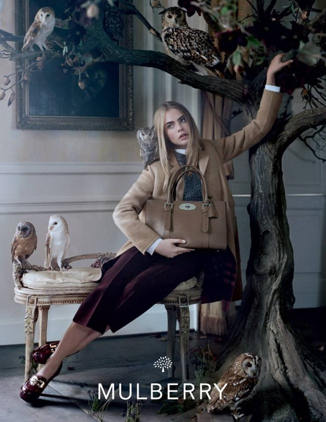 CAMPAIGN Cara Delevigne for Mulberry Fall 2013 by Tim Walker. www.imageamplified.com, Image Amplified (8)