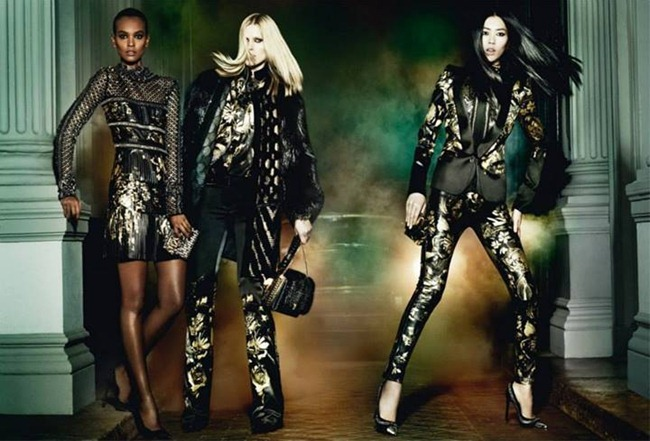 CAMPAIGN Iselin Steiro, Liu Wen & Liya Kebede for Roberto Cavalli Fall 2013 by Mario Testino. www.imageamplified.com, Image Amplified (6)