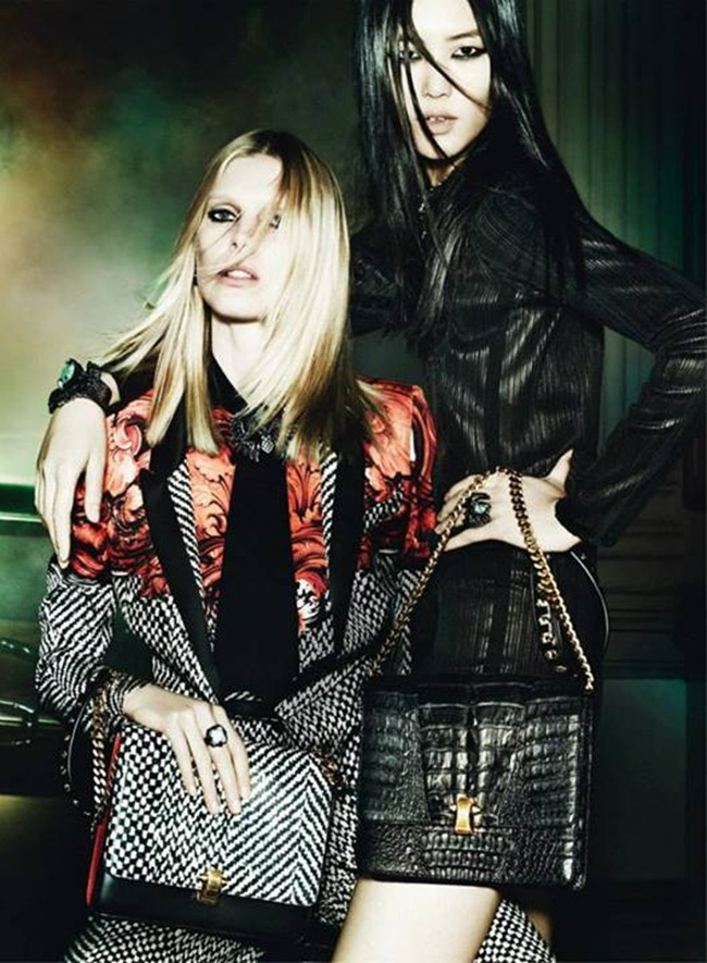 CAMPAIGN Iselin Steiro, Liu Wen & Liya Kebede for Roberto Cavalli Fall 2013 by Mario Testino. www.imageamplified.com, Image Amplified (2)