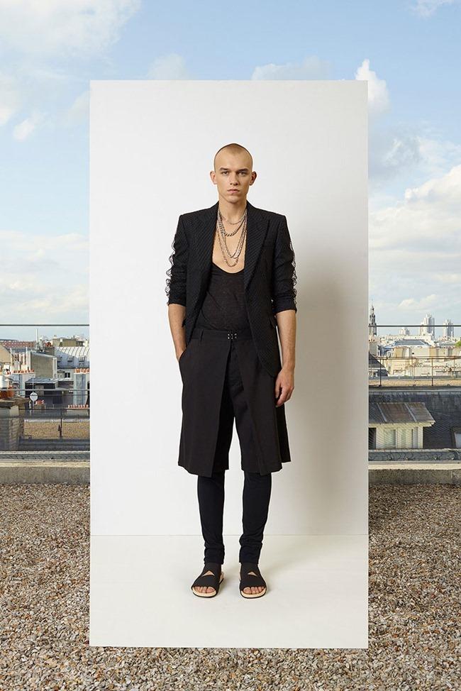 PARIS FASHION WEEK Jean Paul Gaultier Men's RTW Spring 2014. www.imageamplified.com, Image Amplified (10)