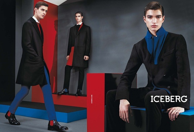 CAMPAIGN- Marine Deleeuw, Mijo Mihaljcic, Josephine le Tutour, Ian Sharp, Matthew Bell & Alexander Ferrario for Iceberg Fall 2013 by Sharif Hamza. www.imageamplified.com, Image Amplified
