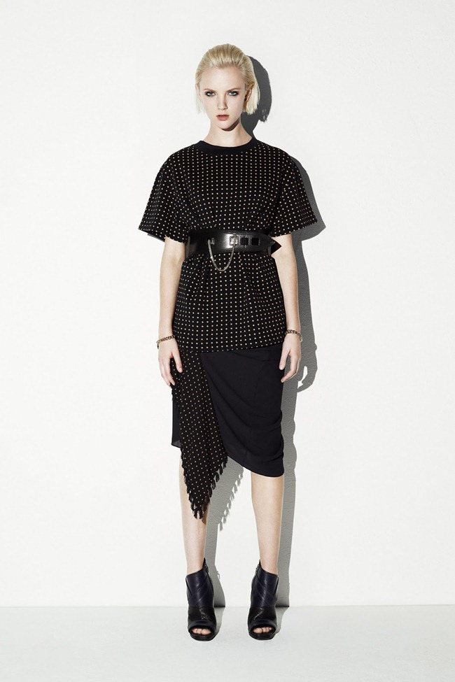 COLLECTION- April Tiplady for McQ Alexander McQueen Resort 2014. www.imageamplified.com, Image Amplified (18)