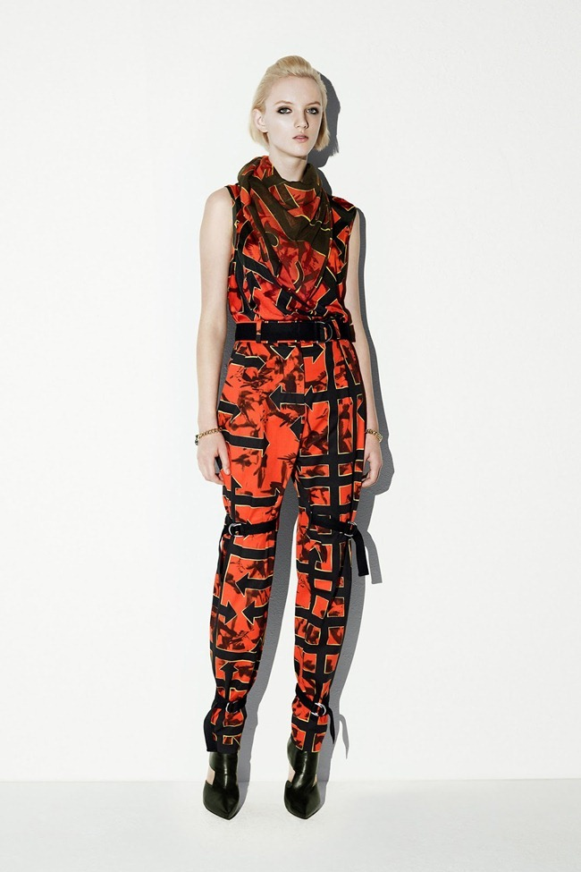 COLLECTION- April Tiplady for McQ Alexander McQueen Resort 2014. www.imageamplified.com, Image Amplified (1)