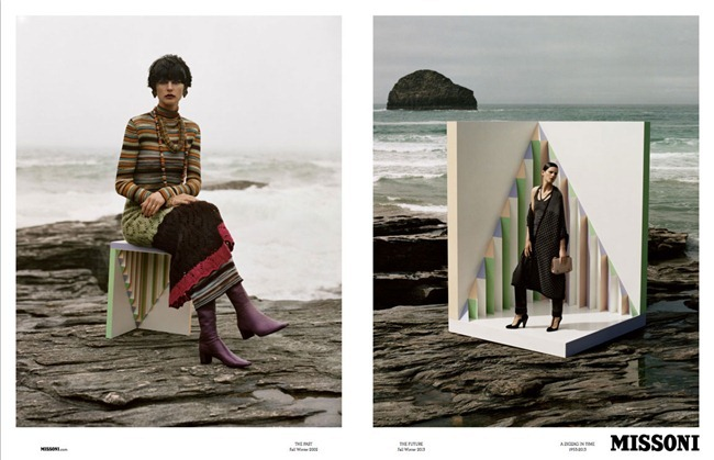 CAMPAIGN Stella Tennant & Paul Sculfor for Missoni Fall 2013 by Alasdair McLellan. www.imageamplified.com, Image Amplified (7)